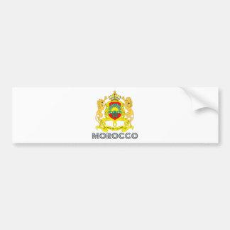 Morocco Coat of Arms Car Bumper Sticker