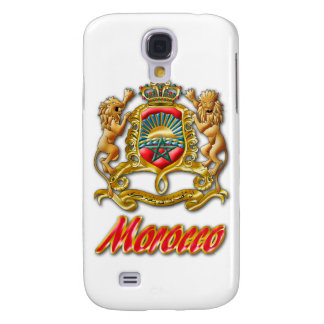 Morocco Coat of Arms Galaxy S4 Cases
