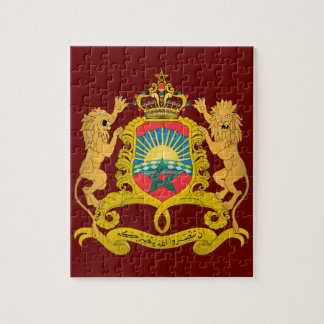 Morocco Coat of Arms Jigsaw Puzzle
