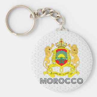 Morocco Coat of Arms Keychain
