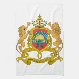 Morocco Coat Of Arms Kitchen Towel