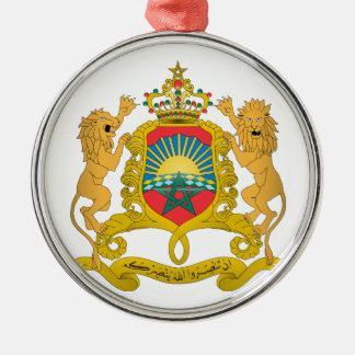 Morocco Coat of Arms Metal Ornament