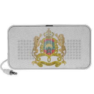 Morocco Coat Of Arms Mini Speaker