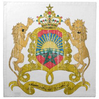 Morocco Coat Of Arms Napkin