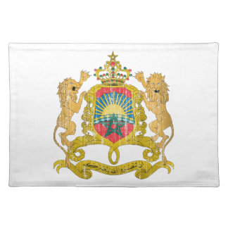 Morocco Coat Of Arms Placemat