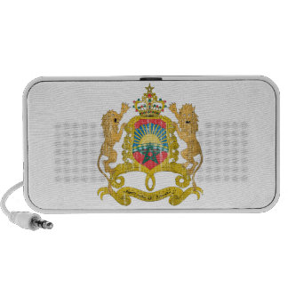 Morocco Coat Of Arms Portable Speaker