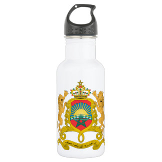 Morocco Coat of Arms Water Bottle