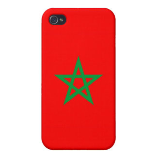 morocco country flag case star iPhone 4 cover