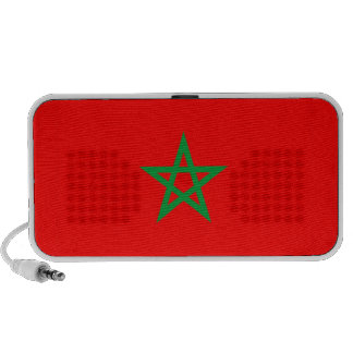morocco country flag doodle speakers