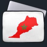 "morocco country flag map shape symbol computer sleeve<br><div class=""desc"">morocco country flag map shape symbol</div>"