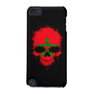 Morocco Dripping Splatter Skull iPod Touch (5th Generation) Cover