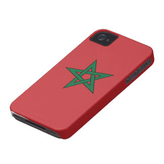 Morocco Flag Case-Mate iPhone 4 Cases