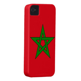 Morocco Flag iPhone 4 Case-Mate Case