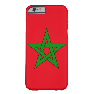 Morocco Flag Barely There iPhone 6 Case