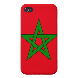 Morocco Flag Case For iPhone 4