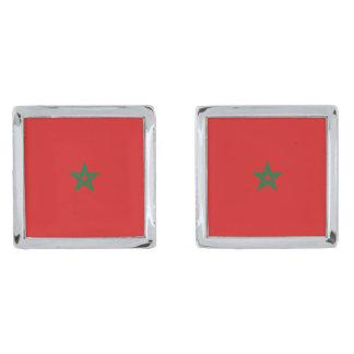Morocco Flag Cufflinks