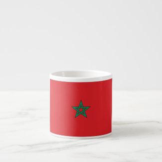 Morocco Flag Espresso Cup