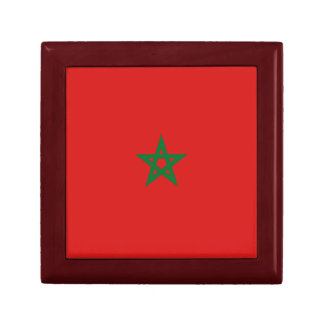 Morocco Flag Gift Box