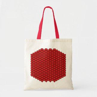 Morocco Flag Hearts Bag
