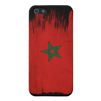Morocco Flag Cases For iPhone 5