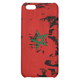 Morocco Flag Cover For iPhone 5C