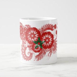 Morocco Flag Large Coffee Mug