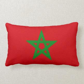 Morocco Flag Lumbar Pillow
