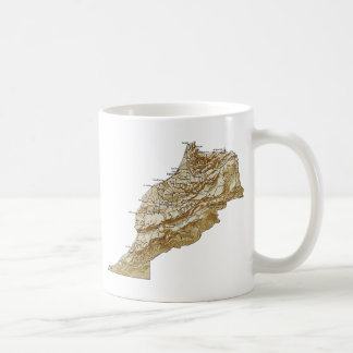 Morocco Flag ~ Map Mug