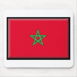 Morocco Flag Mouse Pad