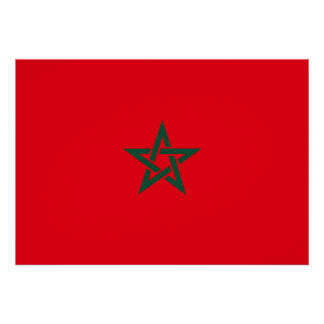 Morocco Flag Posters