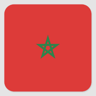 Morocco Flag Sticker