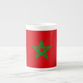 Morocco Flag Tea Cup