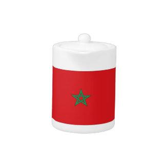 Morocco Flag Teapot
