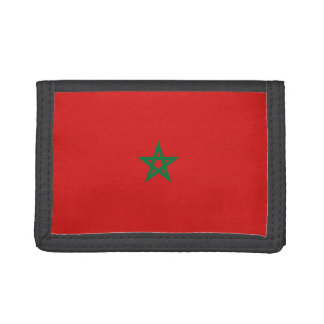 Morocco Flag Wallet