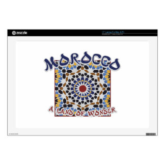 "Morocco Land Of Wonder Decals For 17"" Laptops"