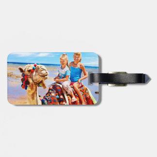 Morocco Luggage Tag