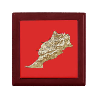 Morocco Map Gift Box