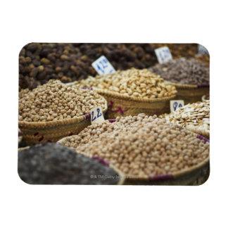 Morocco,Marrakesh,The Medina,Local produce on a Rectangular Magnet