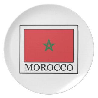 Morocco Melamine Plate