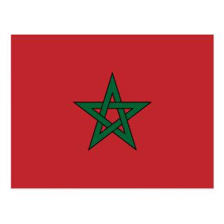 Morocco – Moroccan Flag Postcard