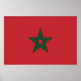 Morocco – Moroccan Flag Poster