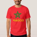 Morocco - Moroccan Flag Tee Shirt