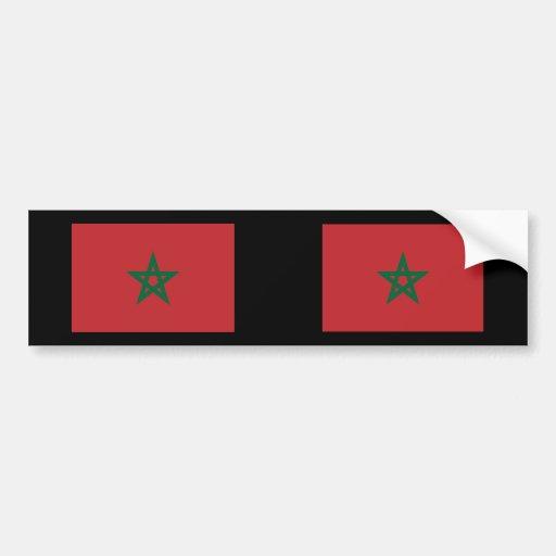 Morocco, Morocco Car Bumper Sticker