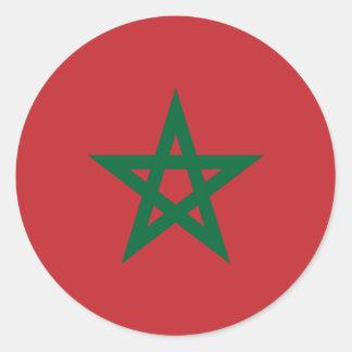 Morocco, Morocco Classic Round Sticker