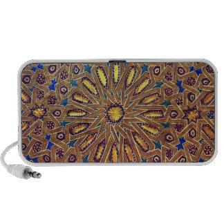 morocco mosaic islam decoration geometry arab portable speaker