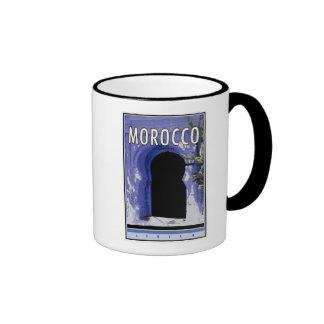 Morocco Ringer Coffee Mug