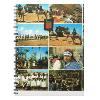 Morocco, North AFrica, Marrakesh multiview Notebook