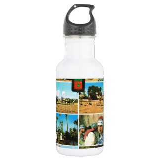Morocco, North AFrica, Marrakesh multiview Water Bottle