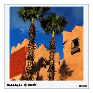 Morocco Resort Exterior Wall Sticker  sc 1 st  Zazzle : moroccan wall decals - www.pureclipart.com