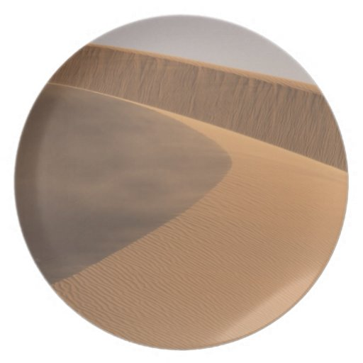 Morocco, Sand Dunes, Draa Valley Dinner Plates